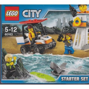 LEGO CITY 60163 damaged box COAST GUARD STARTER SET