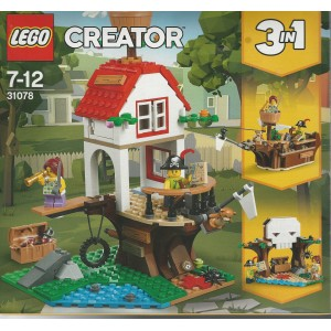 LEGO CREATOR 31078 TREEHOUSE TREASURES