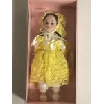 "DOLL'S HOUSE COLLECTION 37 5"" DOLL WITH YELLOW DRESS"