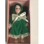 "DOLL'S HOUSE COLLECTION 10 5"" DOLL WITH GREEN DRESS"