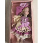 "DOLL'S HOUSE COLLECTION 33 5"" DOLL WITH LILAC DRESS"