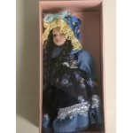 "DOLL'S HOUSE COLLECTION 29 5"" DOLL WITH DARK BLUE DRESS"