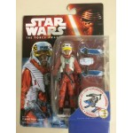 "STAR WARS ACTION FIGURE 3.75 "" - 9 cm X WING PILOT ASTY hasbro B4167"