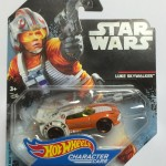 HOT WHEELS - STAR WARS CHARACTER CAR LUKE SKYWALKER single vehicle package DXP41 - 0910