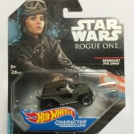 HOT WHEELS - STAR WARS CHARACTER CAR SERGEANT JYN ERSO single vehicle package DXP27 - JA10