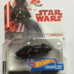 HOT WHEELS - STAR WARS CHARACTER CAR DARTH VADER single vehicle package DXP38 - JA10