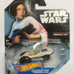 HOT WHEELS - STAR WARS CHARACTER CAR PRINCESS LEIA single vehicle package DXP40 - JA10