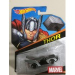 HOT WHEELS - MARVEL SUPERHERO CHARACTER CAR THOR single vehicle package BDM75 0581
