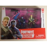 FORTNITE BATTLE ROYALE COLLECTION SQUAD BOX 4 ACTION FIGURES PACK RAPTOR - RUST LORD - REX - RAVEN EPIC GAMES