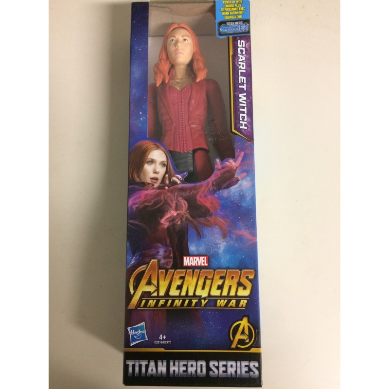 "SCARLET WITCH 12/"" Action Figure Marvel Avengers Titan Hero Series"