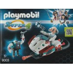 PLAYMOBIL SUPER 4 9003 SKYJET WITH DR. X & ROBOT