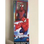 "MARVEL SPIDER MAN ACTION FIGURE 12 "" - 30 cm BIG TIME SPIDER MAN HASBRO C0344 TITAN HERO SERIES"