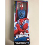 "MARVEL SPIDER MAN ACTION FIGURE 12 "" - 30 cm ARMOURED SPIDER MAN HASBRO C0019 TITAN HERO SERIES"
