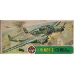 plastic model kit scale 1 : 72 AIRFIX 02037-8 FOCKE WULF 189A-2 new in open box