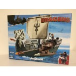 PLAYMOBIL DRAGONS 9244 DRAGO'S SHIP WITH CANNONS