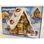 PLAYMOBIL CHRISTMAS 9493 SANTAS BAKERY WITH COOKIE CUTTERS
