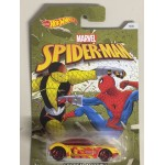 HOT WHEELS - MARVEL SUPERHERO CHARACTER CAR POWER BOMB ( VOLTURE ) spider man the homecoming single vehicle package DWD16