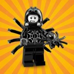 "LEGO MINIFIGURES 71021 09 SPIDER GUY SERIE N° 18 "" PARTY """