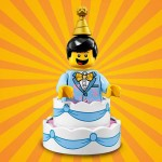 "LEGO MINIFIGURES 71021 10 BIRTHDAY CAKE SUIT GUY SERIE N° 18 "" PARTY """