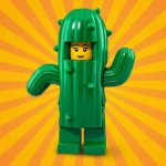 """LEGO MINIFIGURES 71021 10 BIRTHDAY CAKE SUIT GUY SERIE N° 18 """" PARTY """""""