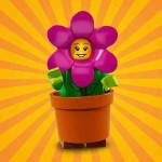 "LEGO MINIFIGURES 71021 14 FLOWERPOT GIRL SERIE N° 18 "" PARTY """