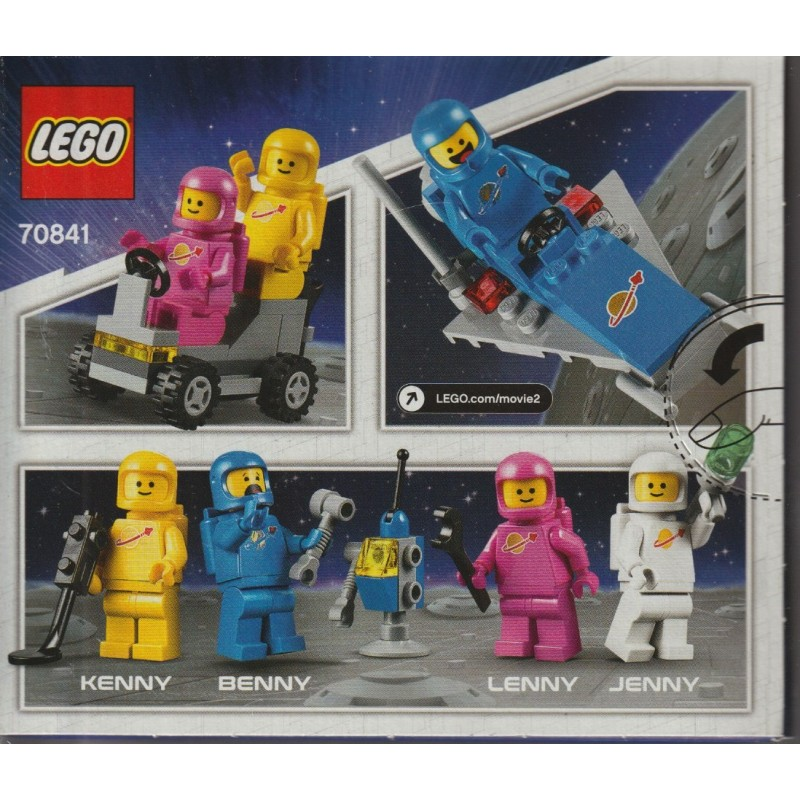 NEW Lego The Lego Movie 2 Benny/'s Space Squad 70841