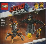 LEGO THE LEGO MOVIE 2 70836 BATTLE READY BATMAN AND METALBEARD