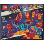 LEGO THE LEGO MOVIE 2 70825 QUEEN WATEVRA WHATEVER BOX