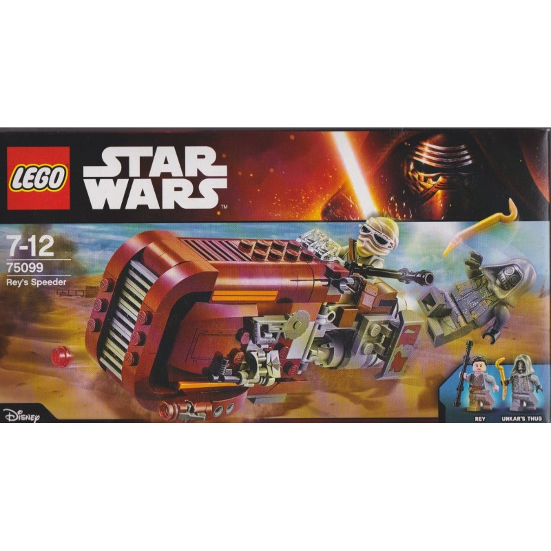 New Sealed LEGO Rey/'s Speeder 75099 Star Wars