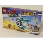 LEGO THE LEGO MOVIE 2 damaged box 70830 SWEET MAYTHEM'S SYSTAR STARSHIP