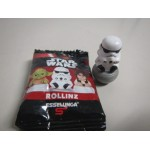 """STAR WARS ROLLINZ PRINCESS LEIA 1 & 1/2"""" ACTION FIGURE Italy only New in opened bag"""