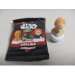 "STAR WARS ROLLINZ OBI WAN KENOBI 1 & 1/2"" ACTION FIGURE Italy only New in opened bag"