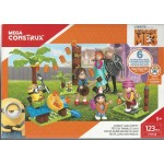 MEGA CONSTRUX, DESPICABLE ME 3, MINIONS FAMILY LUAU PARTY FHY38