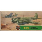 plastic model kit scale 1 : 72AIRFIX 02032-3 HENSCHEL HS 129 serie 2 new in open box