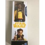 "STAR WARS ACTION FIGURE 12 "" - 30 cm LANDO CALRISSIAN HASBRO E1183"