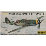 plastic model kit scale 1 : 72 HELLER N° 240 HEINKEL HE 112 BO/B1 new in open and damaged box