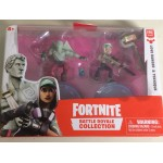 FORTNITE BATTLE ROYALE COLLECTION DUO PACK 2 ACTION FIGURES PACK SERGEANT JONESY - CARBIDE EPIC GAMES 35633