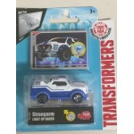 TRANSFORMERS LIGHT UP RACER STRONGARM 1: 43 DIE CAST VEHICLE Dickie toys