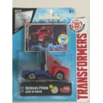 TRANSFORMERS LIGHT UP RACER OPTIMUS PRIME 1: 43 DIE CAST VEHICLE Dickie toys