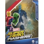 """MARVEL SUPER HEROES MASHERS MARVEL'S ELECTRO ACTION FIGURE 6"""" 15 cm HASBRO A9831"""