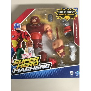 "MARVEL SUPER HEROES MASHERS CAPTAIN AMERICA ACTION FIGURE 6"" 15 cm HASBRO B0694"