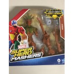 "MARVEL SUPER HEROES MASHERS MARVEL'S WHIPLASH ACTION FIGURE 6"" 15 cm HASBRO B0696"