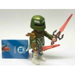 PLAYMOBIL FI?URES 70025 SERIE 15 08 GREEN KNIGHT