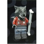 LEGO MINIFIGURES 71010 MONSTERS WOLF GUY