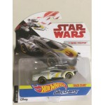 HOT WHEELS - STAR WARS CARSHIPS Y-WING FIGHTER single vehicle package DXX94