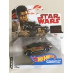 HOT WHEELS - STAR WARS CHARACTER CAR FINN single vehicle package Hasbro FDJ79