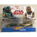 HOT WHEELS - STAR WARS CHARACTER CAR KYLO REN & SNOKE two vehicles package Hasbro FDK 37