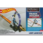 HOT WHEELS TRACK BUILDER 2-LANE LAUNCHER DJD68