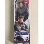 "MARVEL AVENGERS ACTION FIGURE 12 "" - 30 cm THOR HASBRO E3921 POWER FX TITAN HERO SERIES"