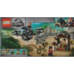 LEGO JURASSIC WORLD 75934 IL DILOPOSAURO IN FUGA